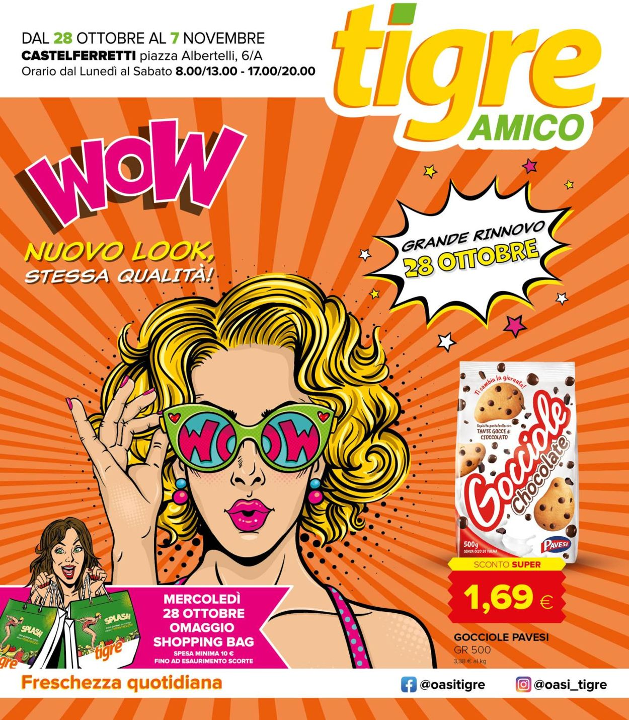 Volantino Tigre - Offerte 28/10-07/11/2020