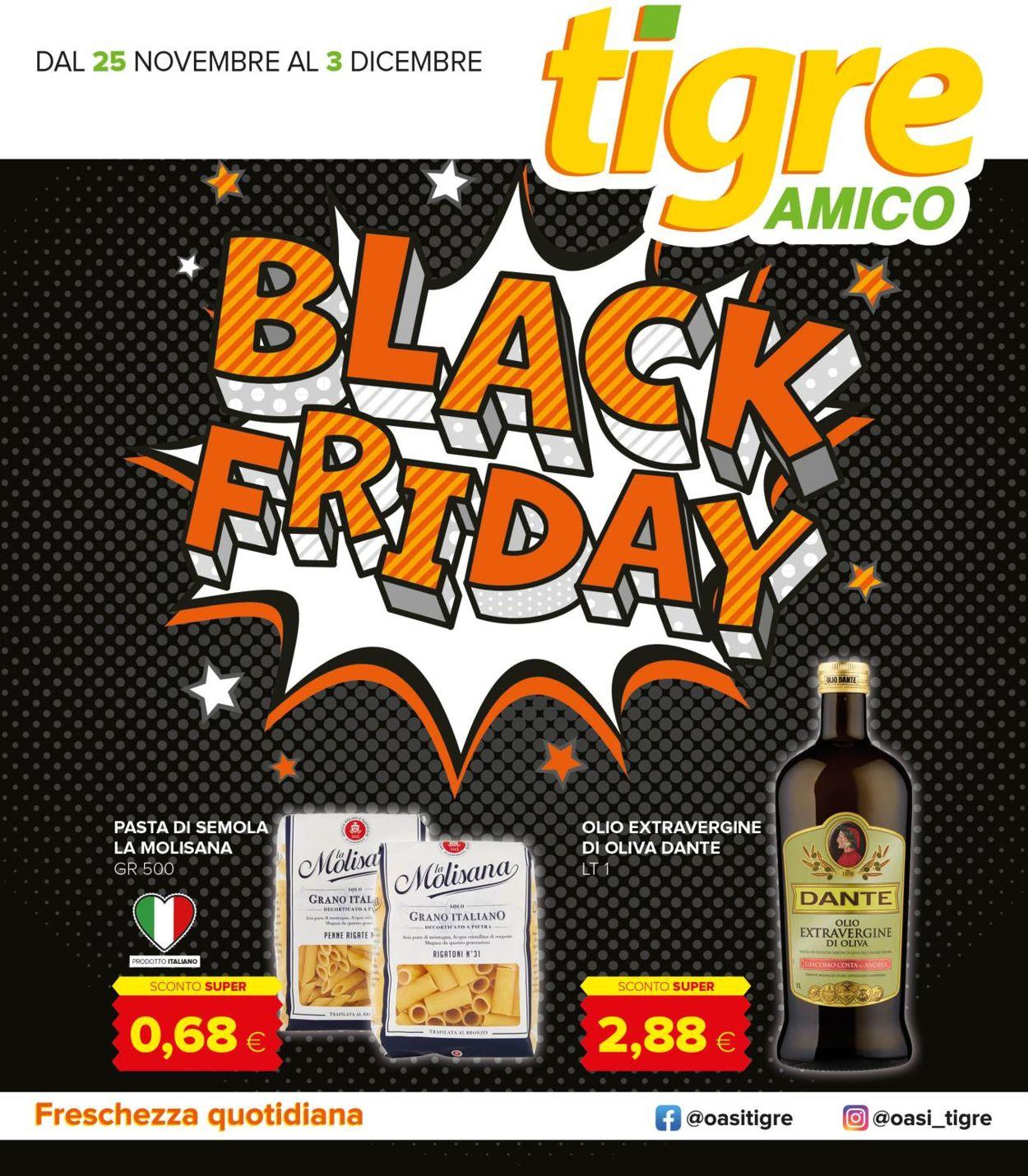 Volantino Tigre - Black Friday 2020 - Offerte 25/11-03/12/2020