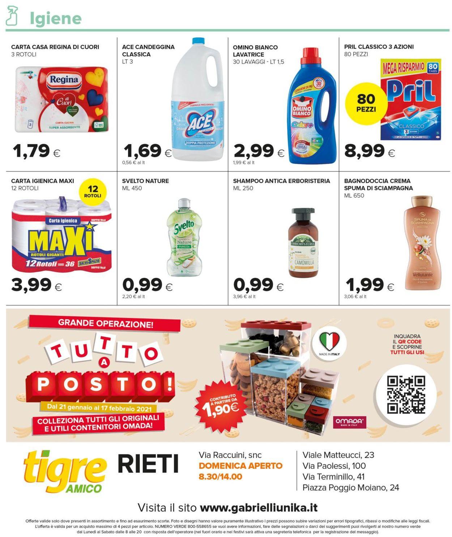 Volantino Tigre Amico - Rieti - Offerte 20/01-31/01/2021 (Pagina 12)