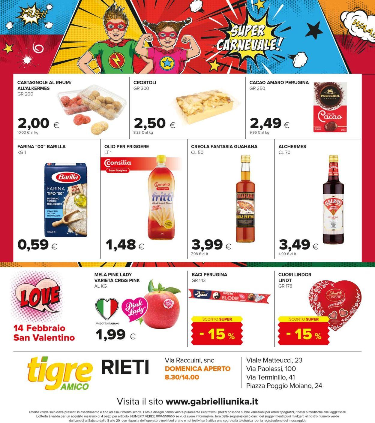 Volantino Tigre Amico - Rieti - Offerte 03/02-14/02/2021 (Pagina 12)