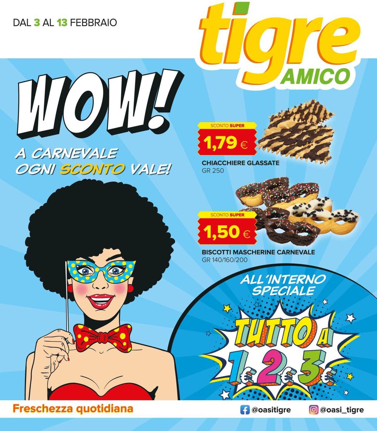 Volantino Tigre Amico - Offerte 03/02-13/02/2021
