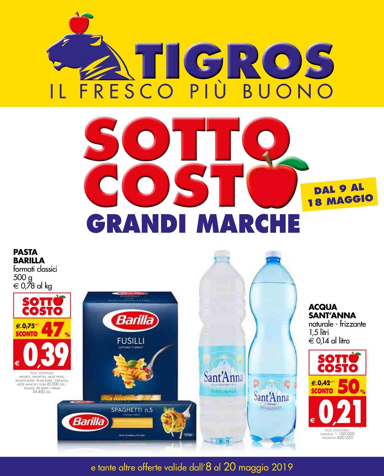 Volantino Tigros - Offerte 08/05-20/05/2019