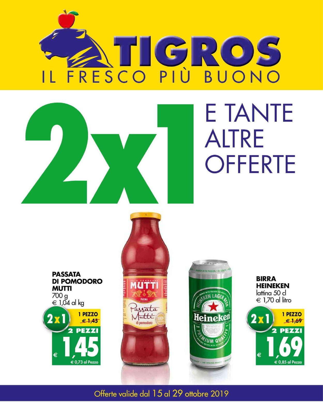 Volantino Tigros - Offerte 15/10-29/10/2019