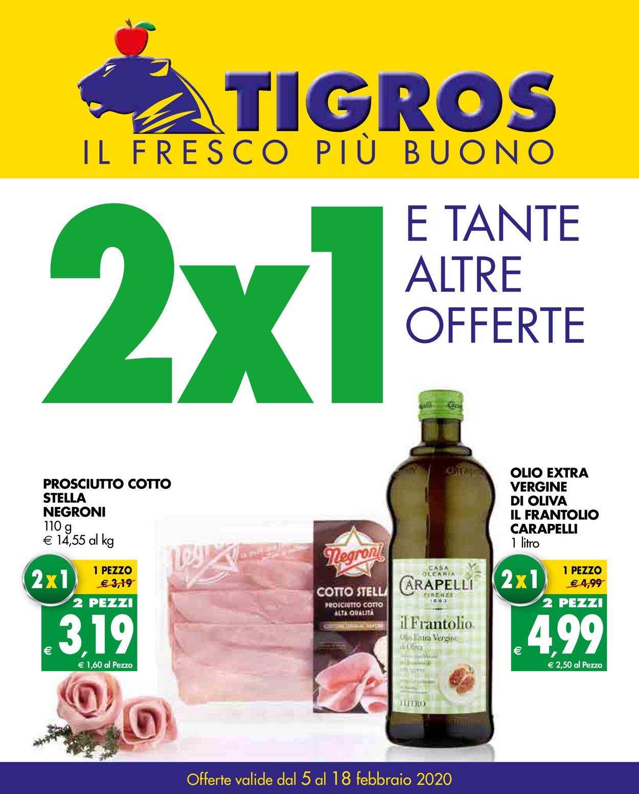 Volantino Tigros - Offerte 05/02-18/02/2020