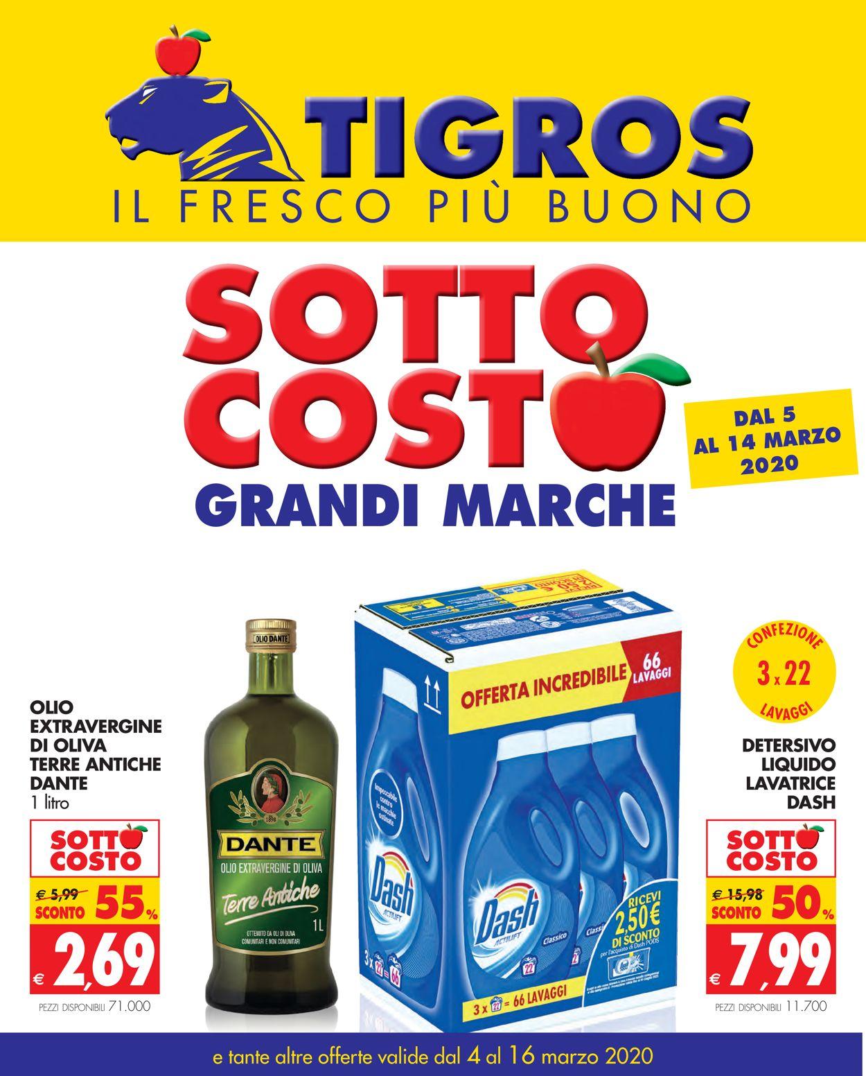 Volantino Tigros - Offerte 04/03-16/03/2020