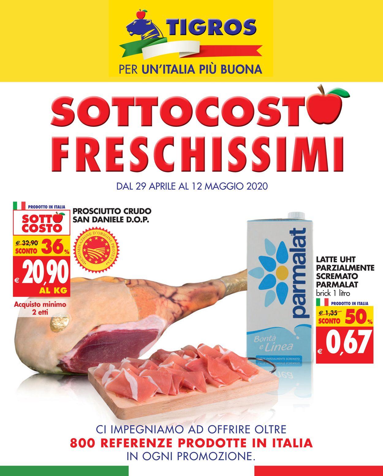 Volantino Tigros - Offerte 29/04-12/05/2020
