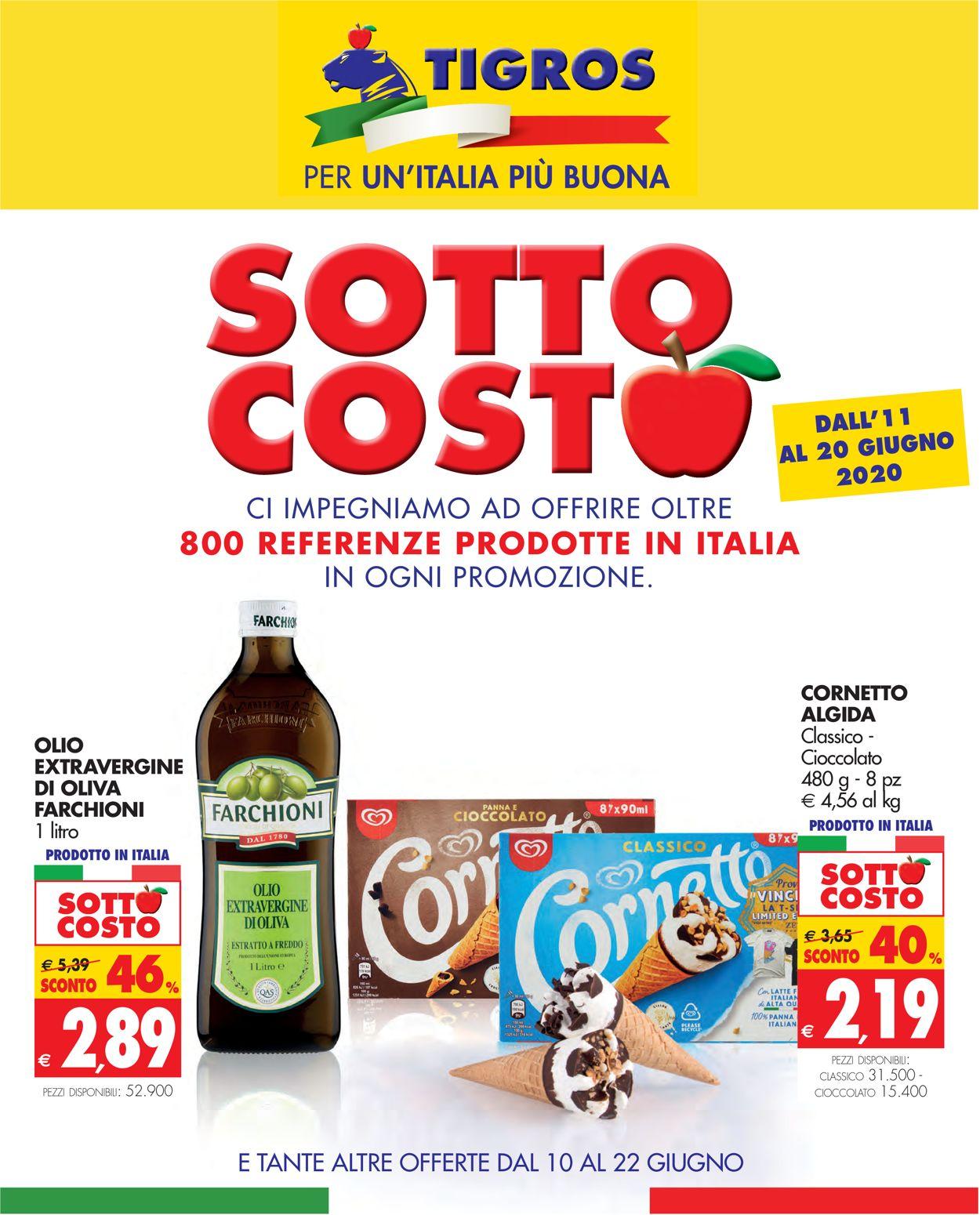 Volantino Tigros - Offerte 10/06-22/06/2020