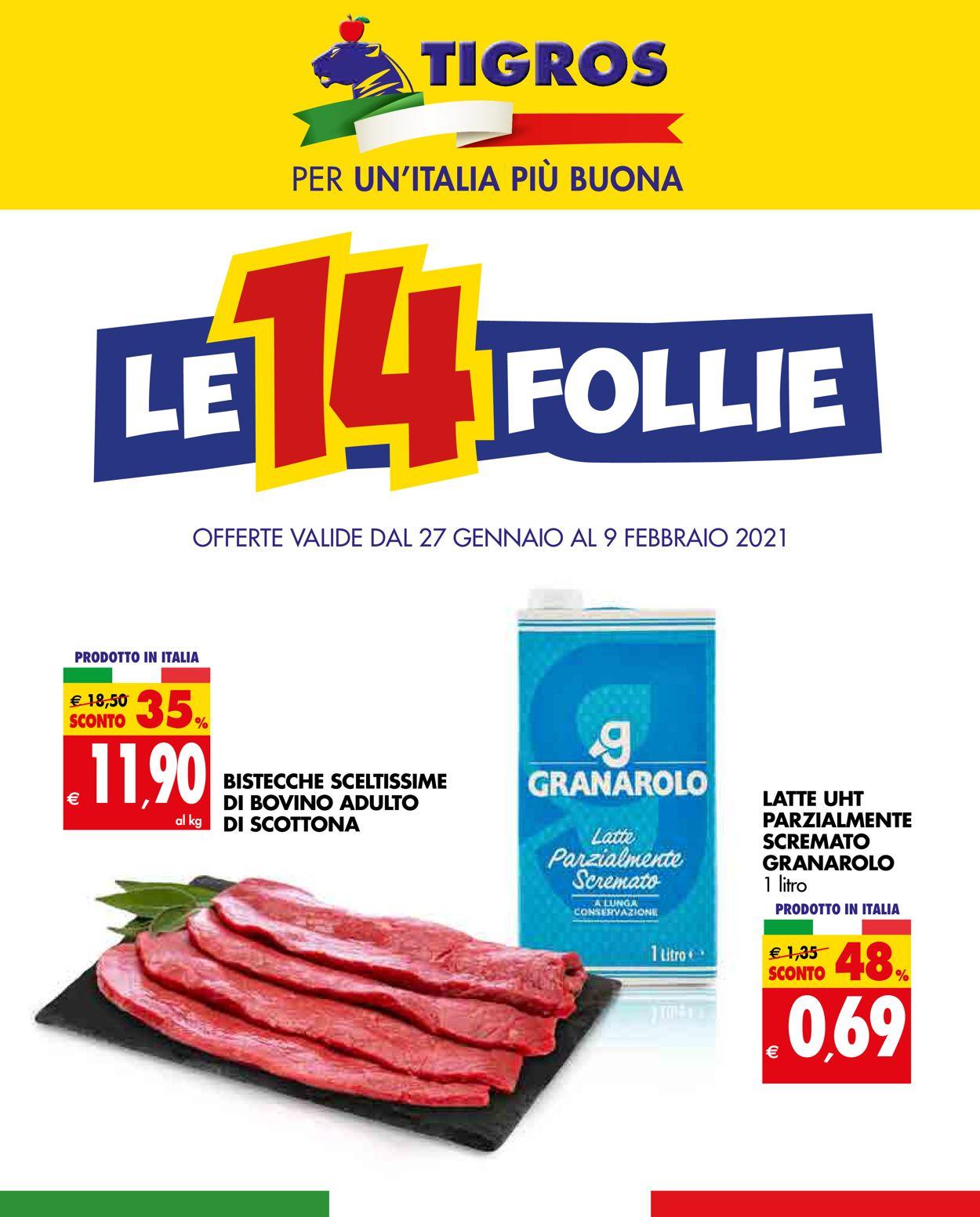 Volantino Tigros - Offerte 27/01-09/02/2021