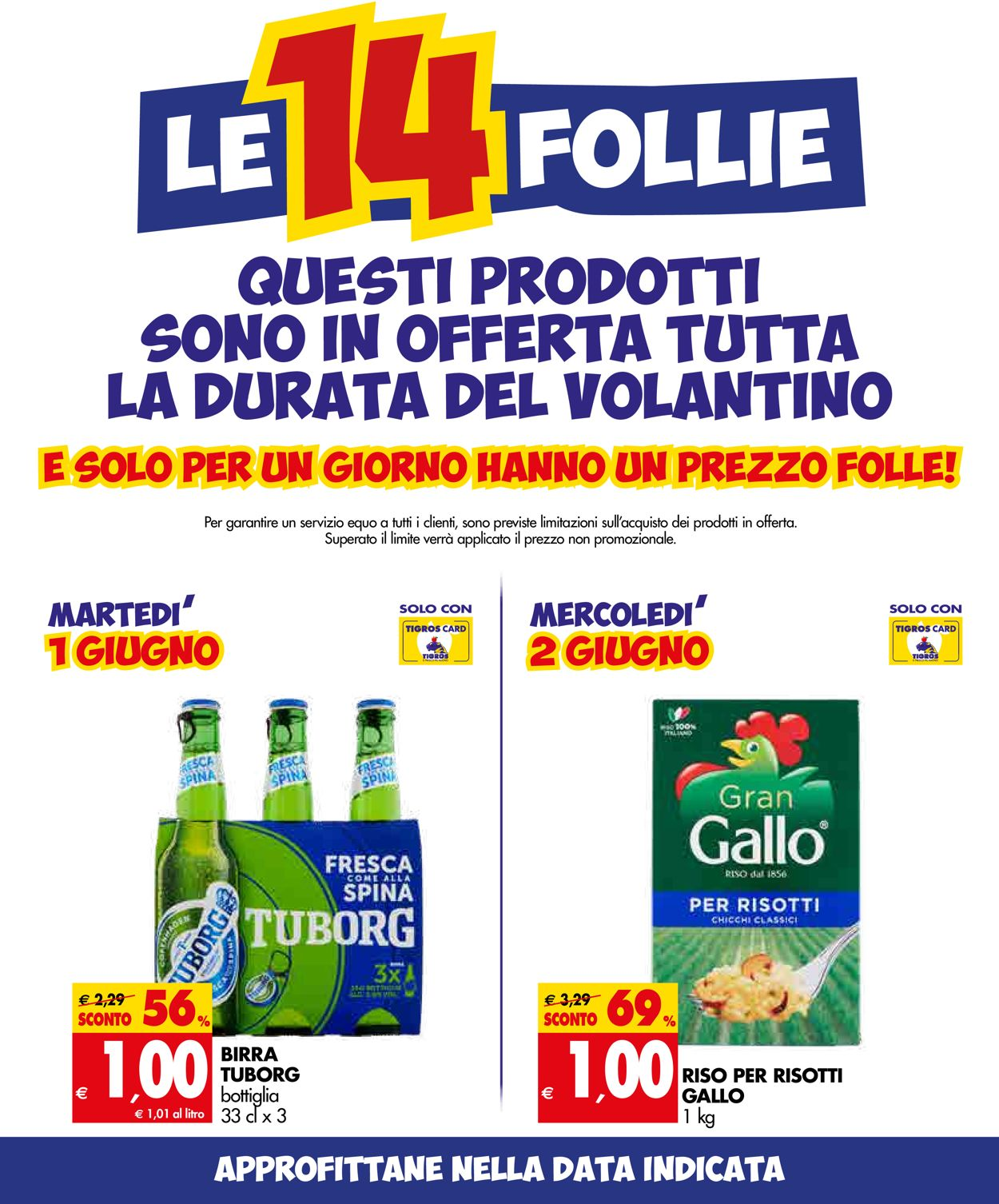 Volantino Tigros - Offerte 01/06-14/06/2021 (Pagina 2)