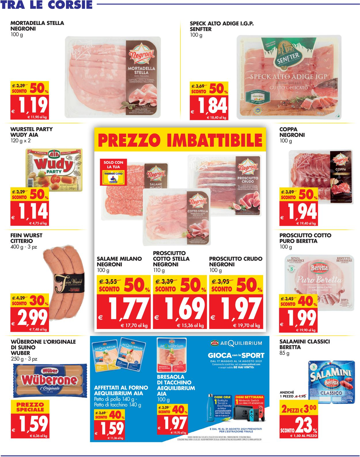 Volantino Tigros - Offerte 14/07-27/07/2021 (Pagina 9)