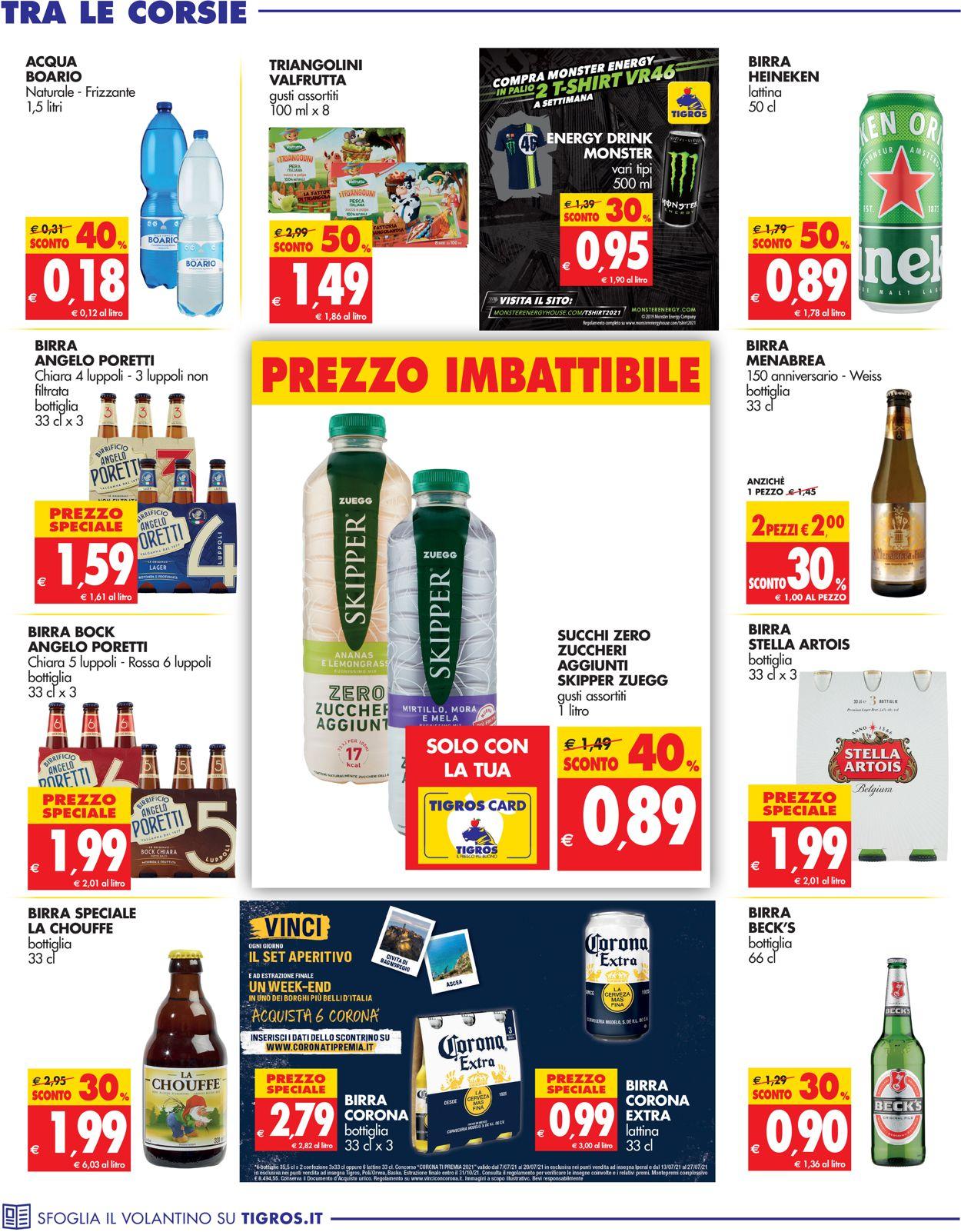 Volantino Tigros - Offerte 14/07-27/07/2021 (Pagina 22)