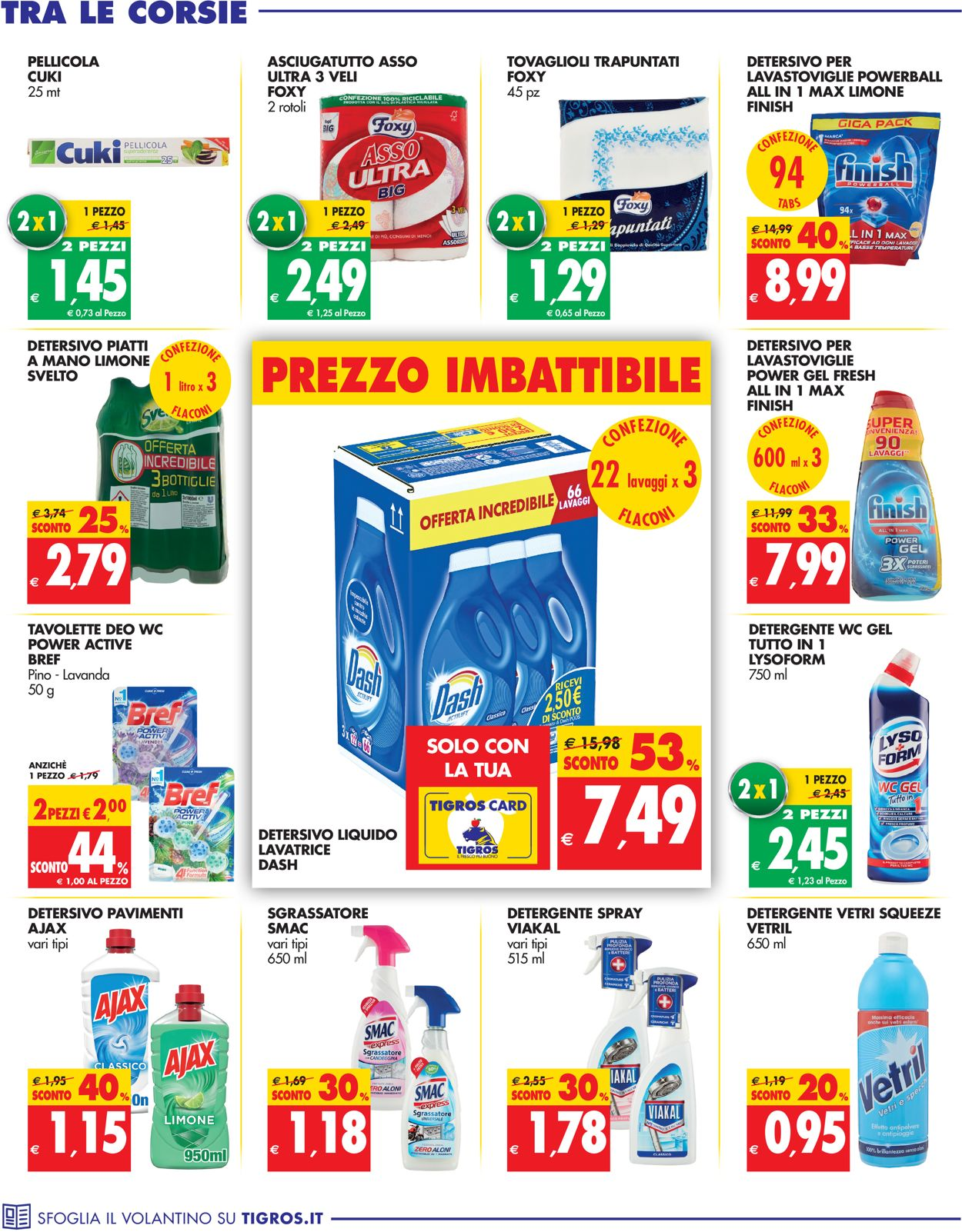 Volantino Tigros - Offerte 14/07-27/07/2021 (Pagina 30)