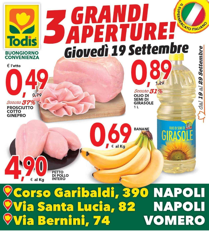 Volantino Todis - Offerte 19/09-29/09/2019