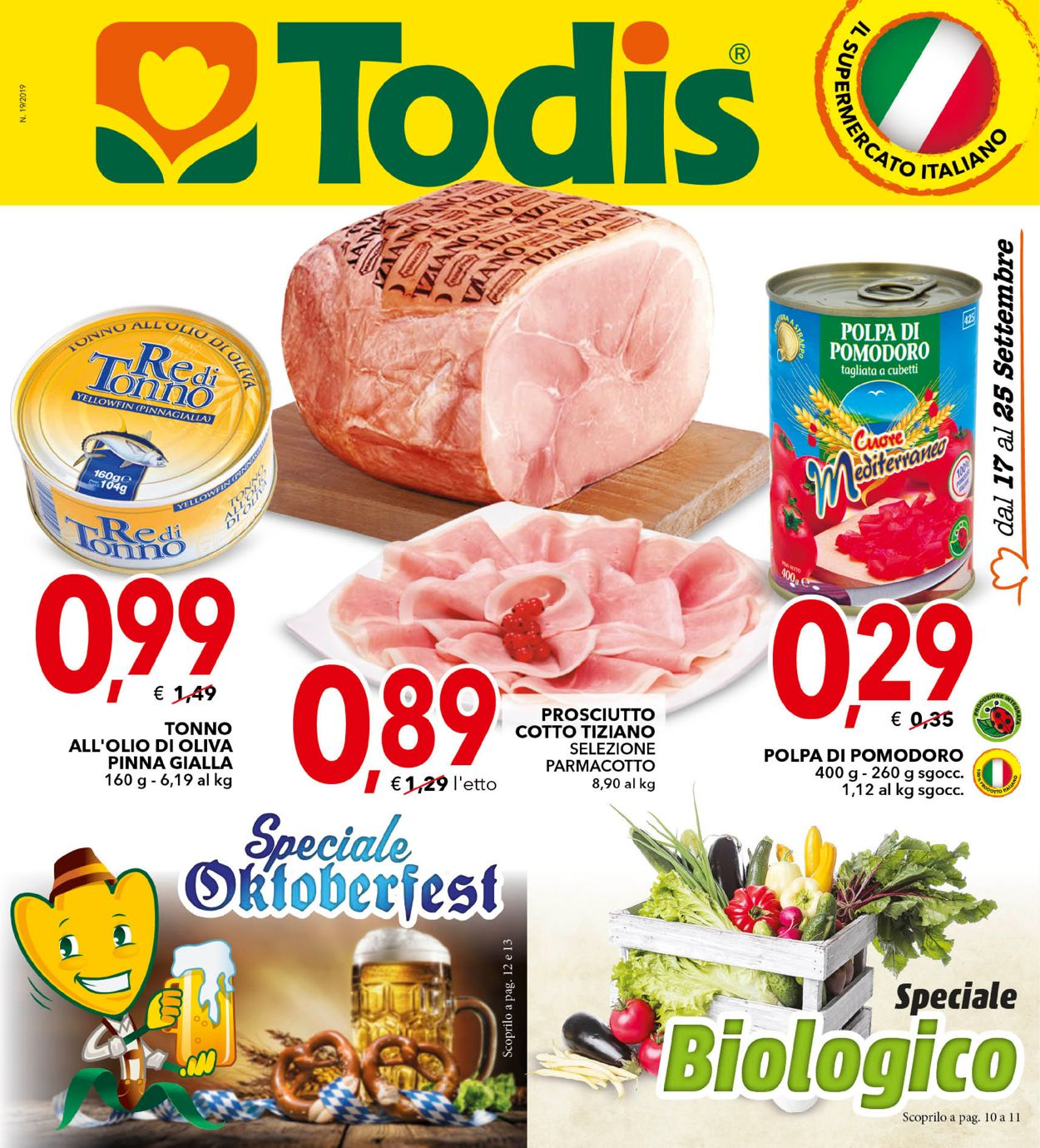 Volantino Todis - Offerte 17/09-25/09/2019