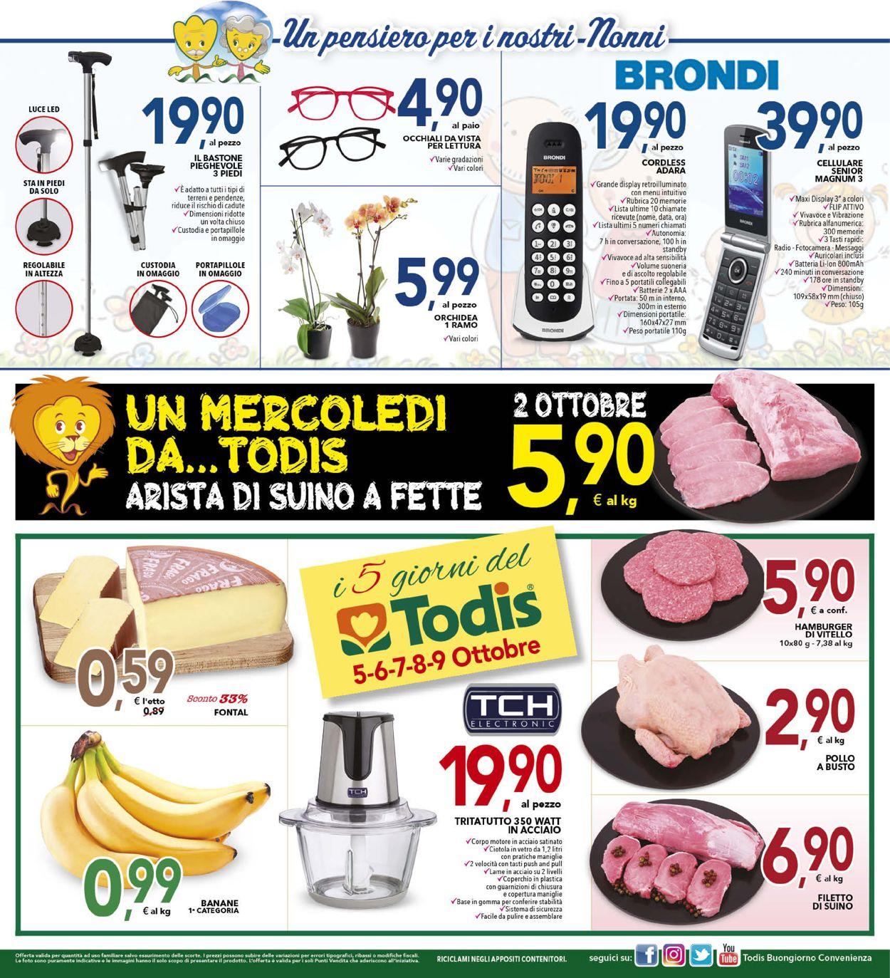 Volantino Todis - Offerte 26/09-06/10/2019 (Pagina 16)