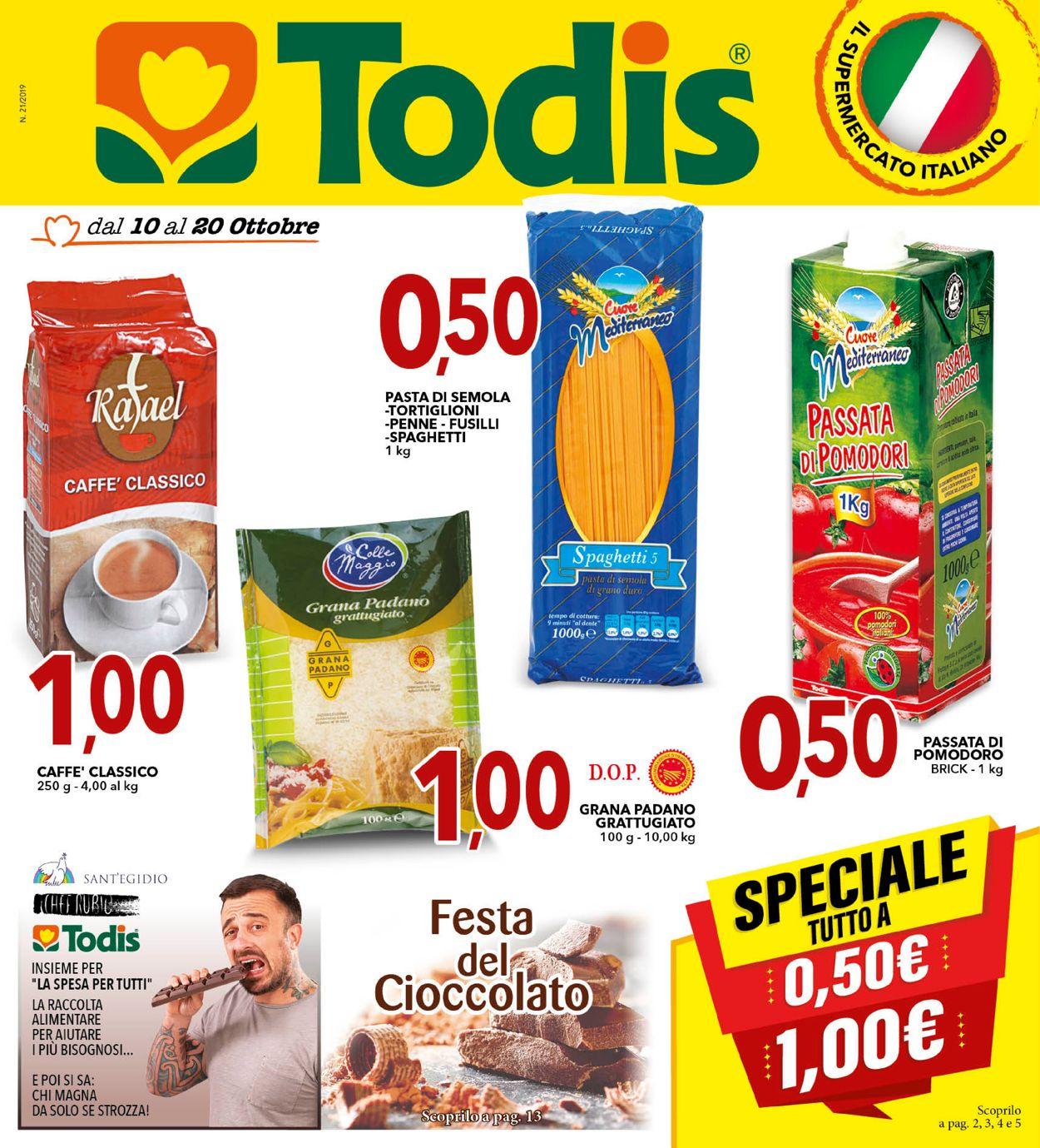 Volantino Todis - Offerte 10/10-20/10/2019