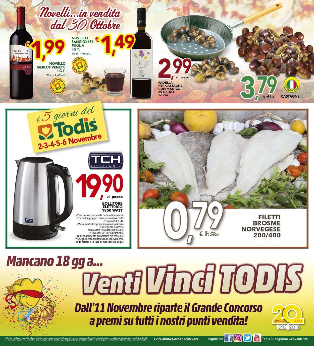 Volantino Todis - Offerte 24/10-03/11/2019 (Pagina 16)