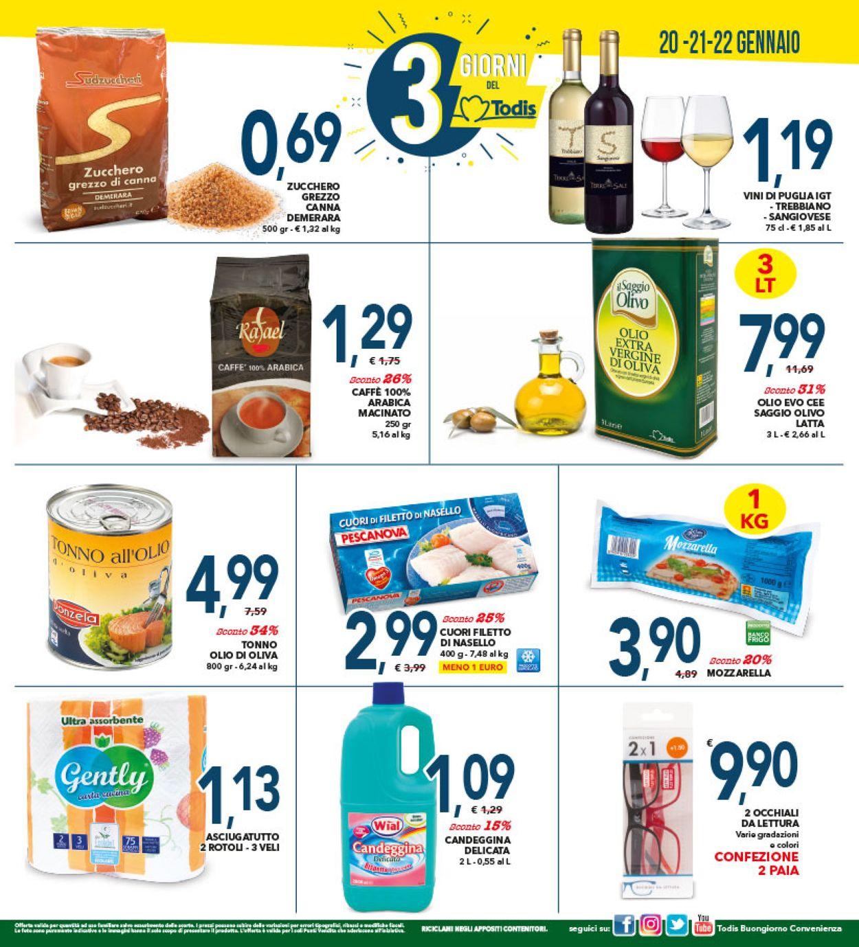 Volantino Todis - Offerte 09/01-19/01/2020 (Pagina 20)