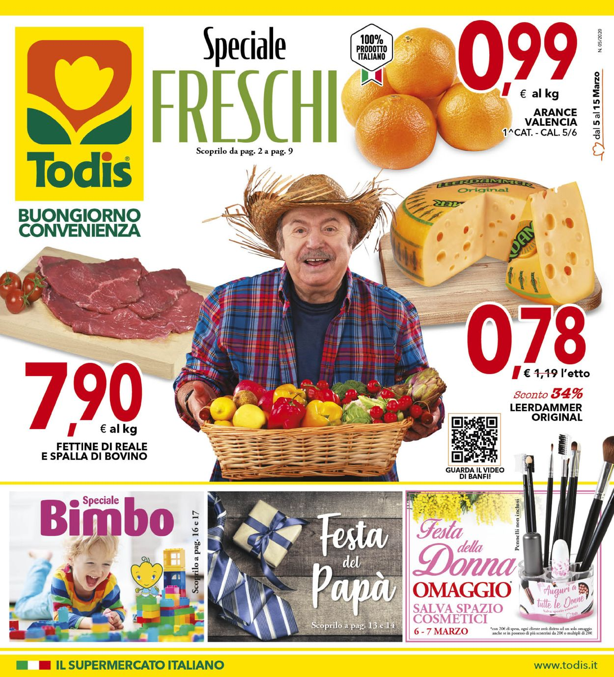 Volantino Todis - Offerte 05/03-15/03/2020
