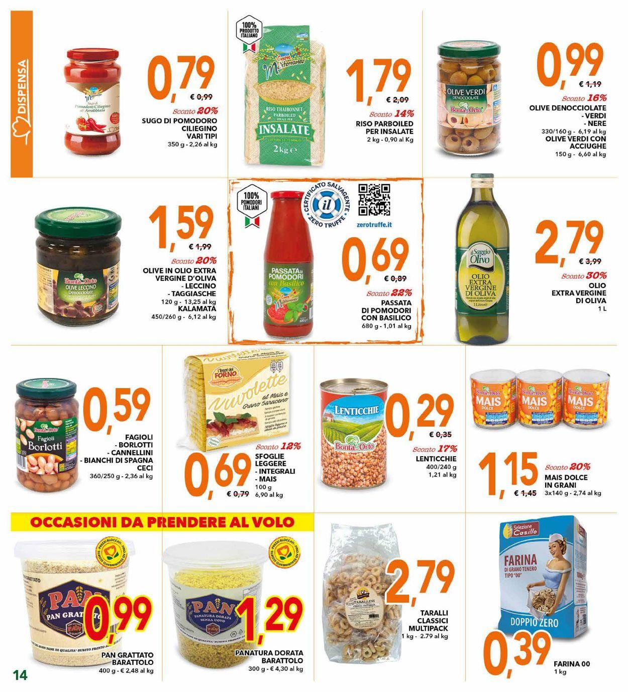 Volantino Todis - Offerte 03/09-13/09/2020 (Pagina 14)