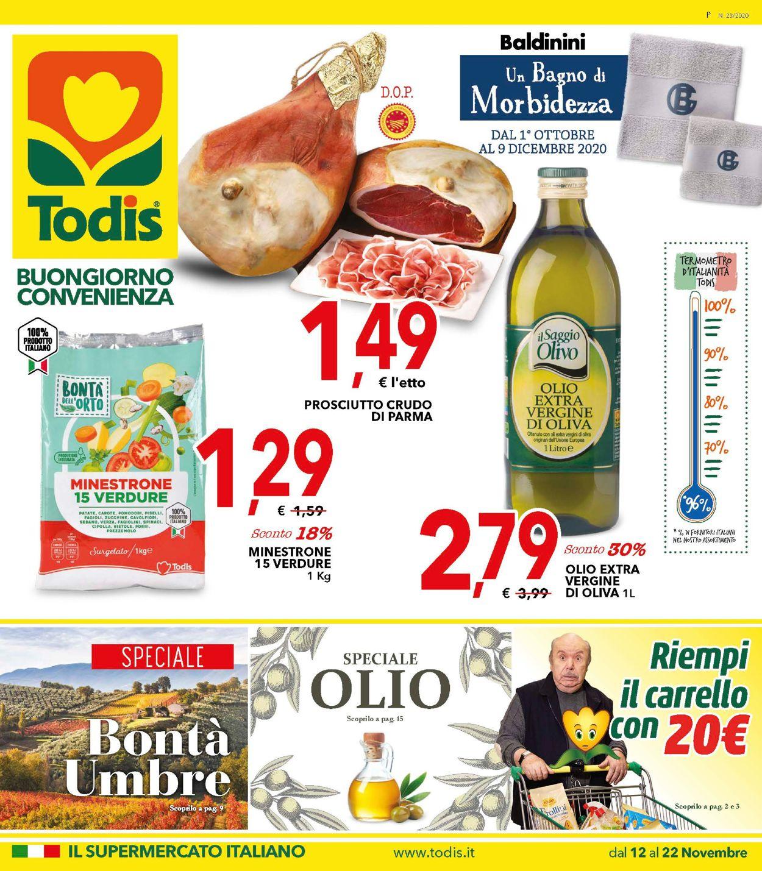 Volantino Todis - Offerte 12/11-22/11/2020