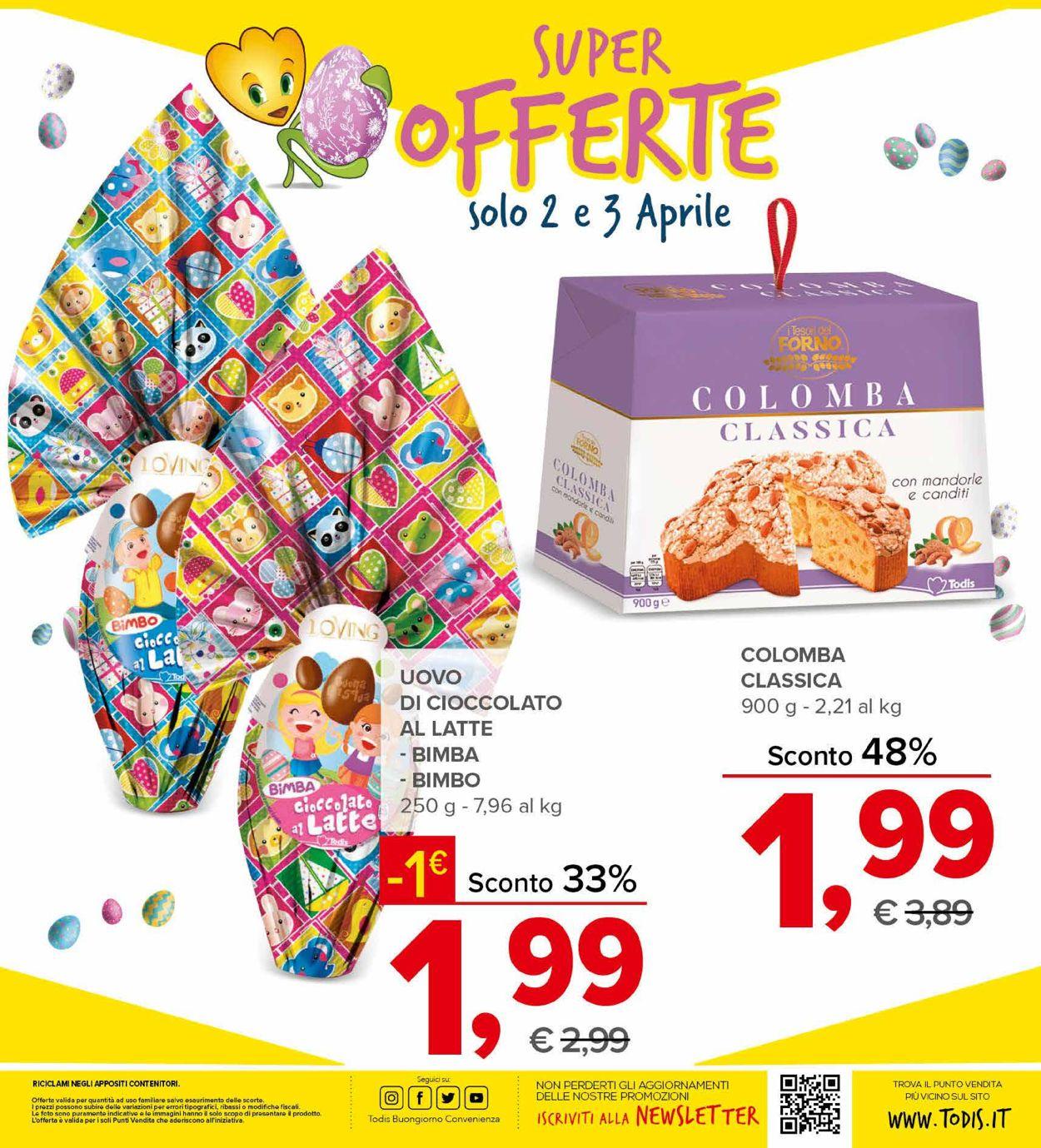 Volantino Todis - Pasqua 2021! - Offerte 26/03-05/04/2021 (Pagina 8)