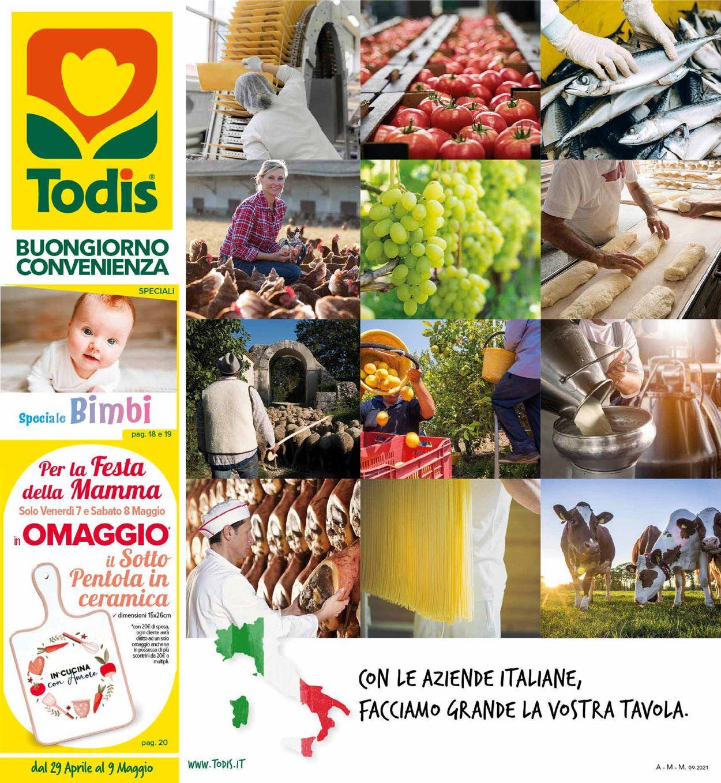 Volantino Todis - Offerte 29/04-09/05/2021