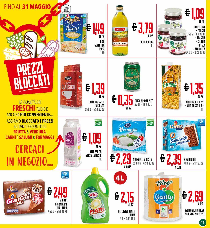 Volantino Todis - Offerte 29/04-09/05/2021 (Pagina 17)