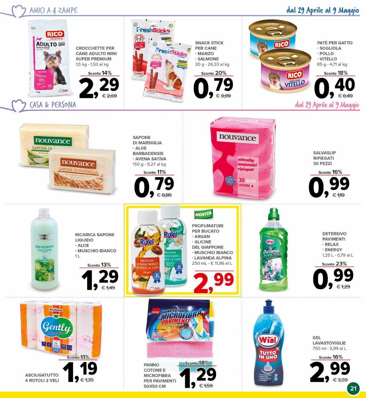 Volantino Todis - Offerte 29/04-09/05/2021 (Pagina 21)