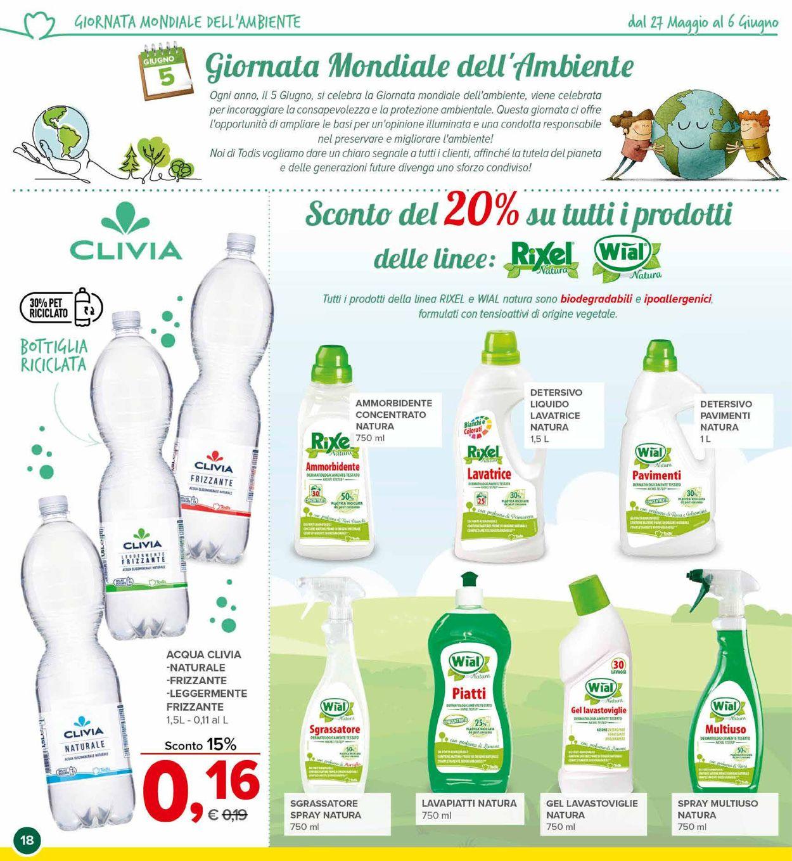 Volantino Todis - Offerte 27/05-06/06/2021 (Pagina 18)