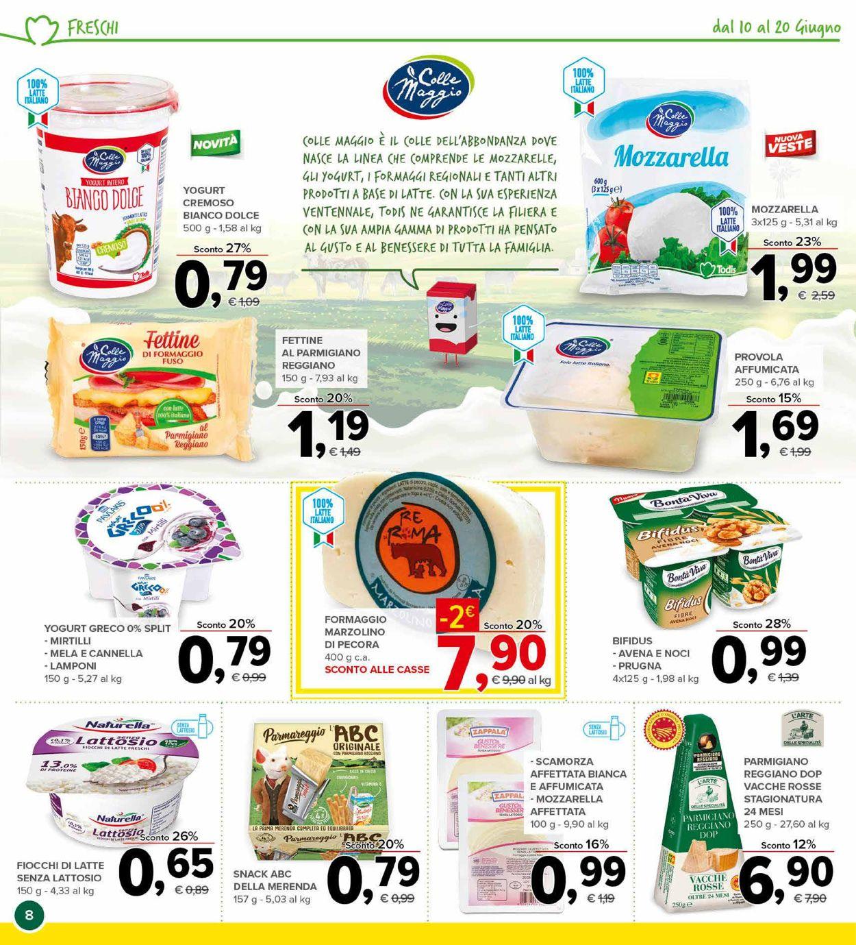 Volantino Todis - Offerte 10/06-20/06/2021 (Pagina 8)