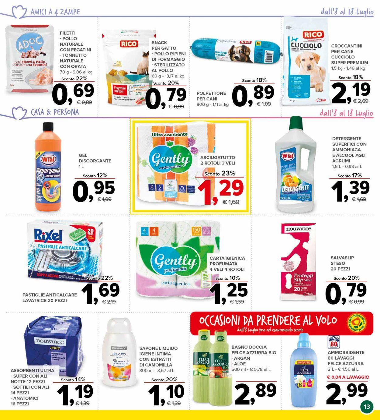 Volantino Todis - Offerte 08/07-18/07/2021 (Pagina 13)