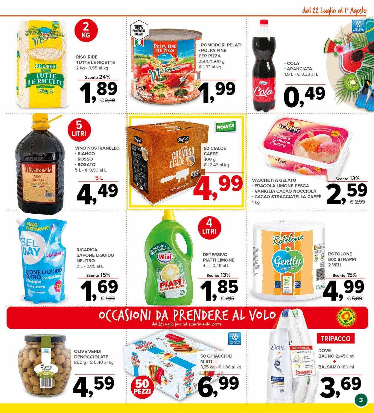 Volantino Todis - Offerte 22/07-01/08/2021 (Pagina 3)