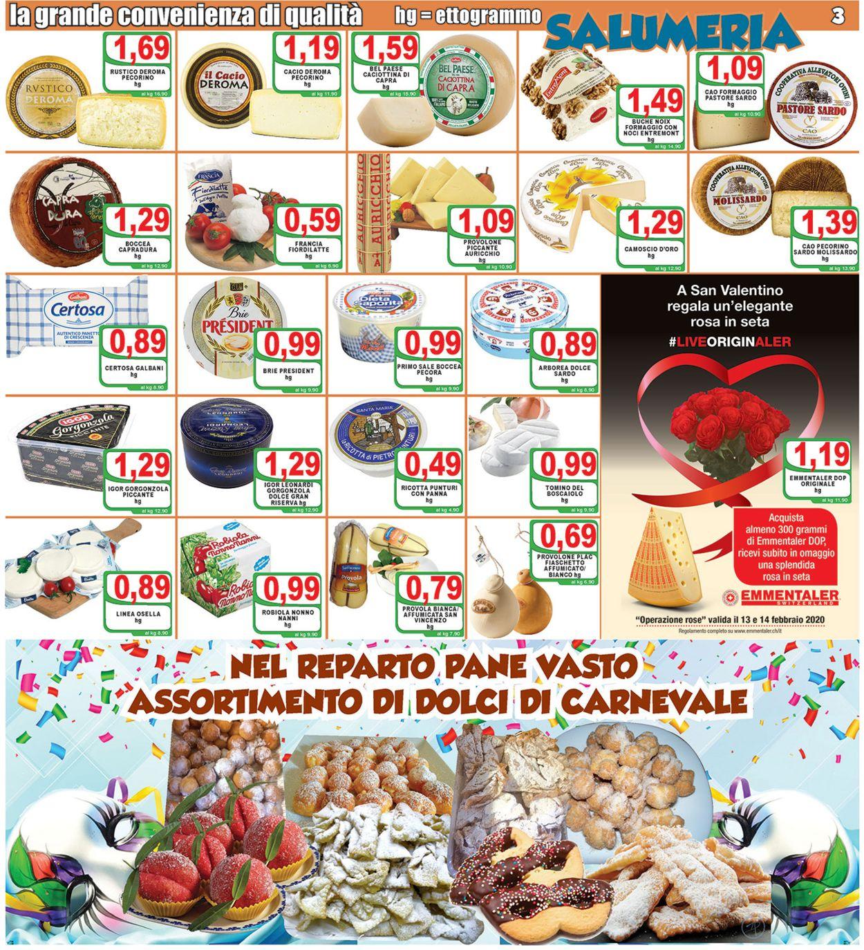 Volantino Top Supermercati - Offerte 07/02-18/02/2020 (Pagina 3)