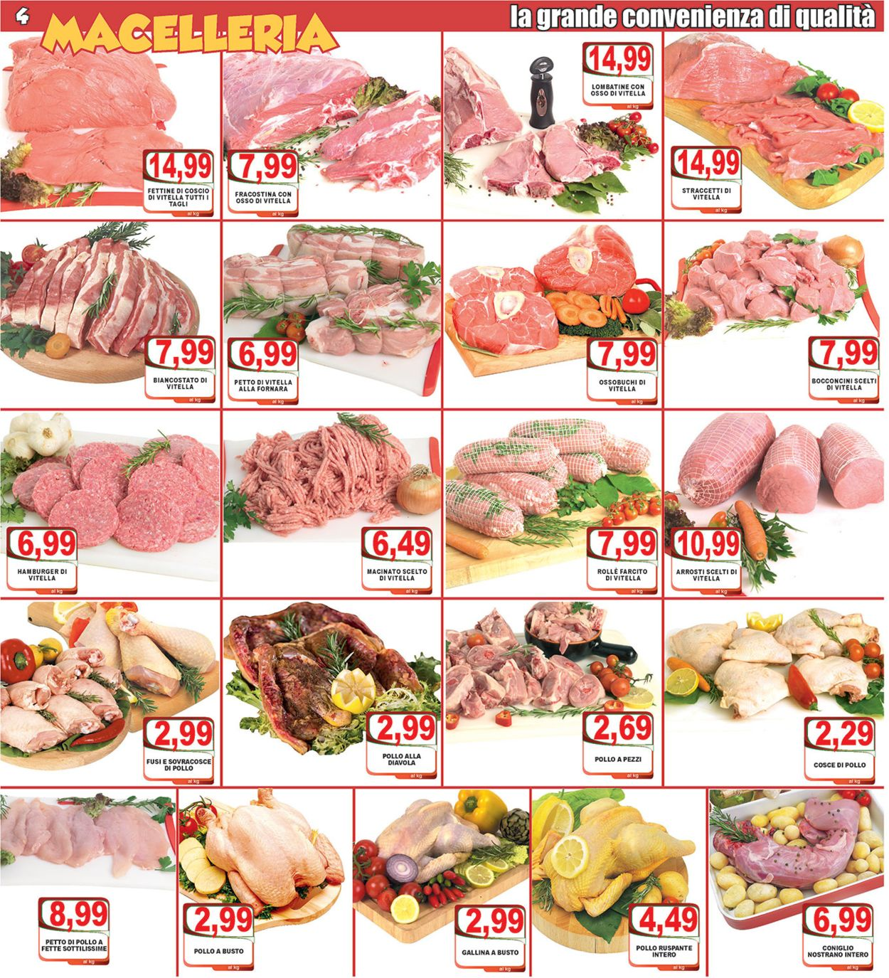 Volantino Top Supermercati - Offerte 07/02-18/02/2020 (Pagina 4)