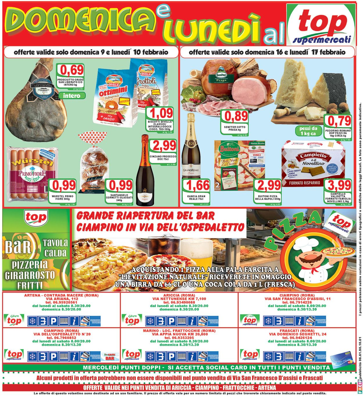 Volantino Top Supermercati - Offerte 07/02-18/02/2020 (Pagina 20)