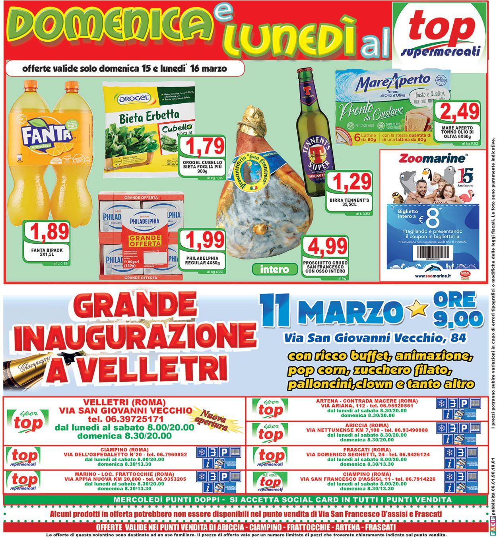 Volantino Top Supermercati - Offerte 11/03-19/03/2020 (Pagina 20)