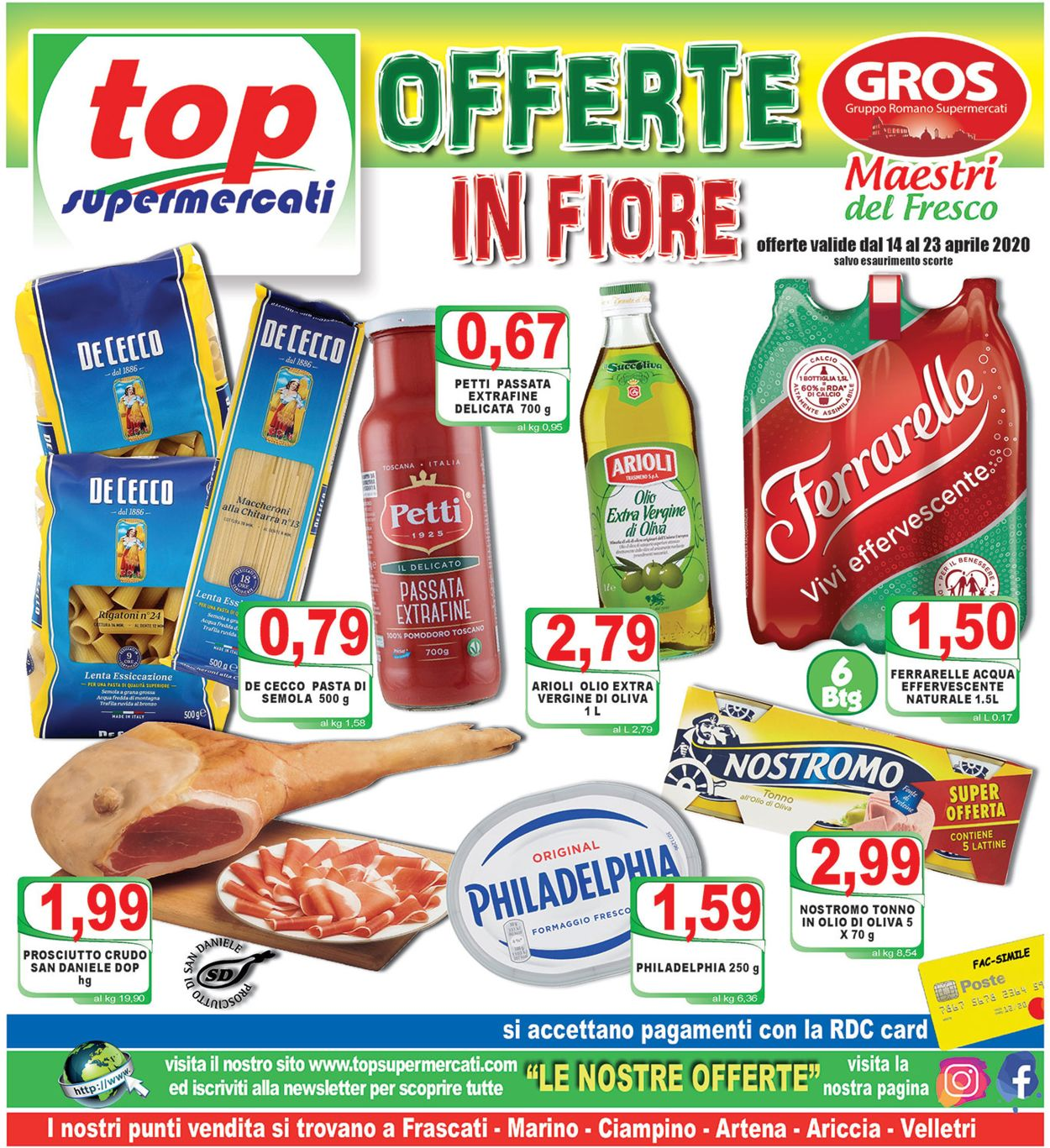 Volantino Top Supermercati - Offerte 14/04-23/04/2020