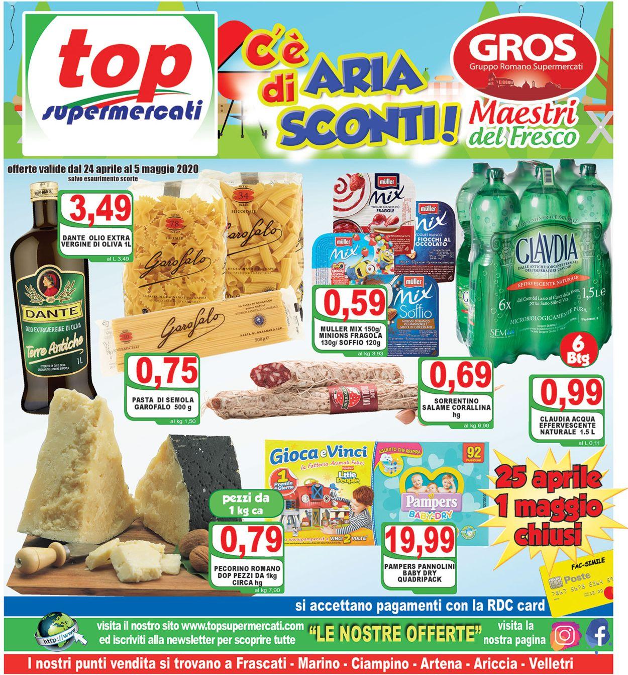 Volantino Top Supermercati - Offerte 24/04-05/05/2020