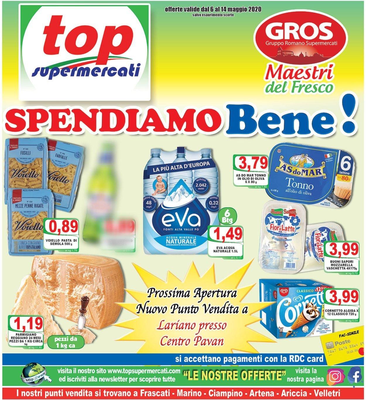 Volantino Top Supermercati - Offerte 06/05-14/05/2020