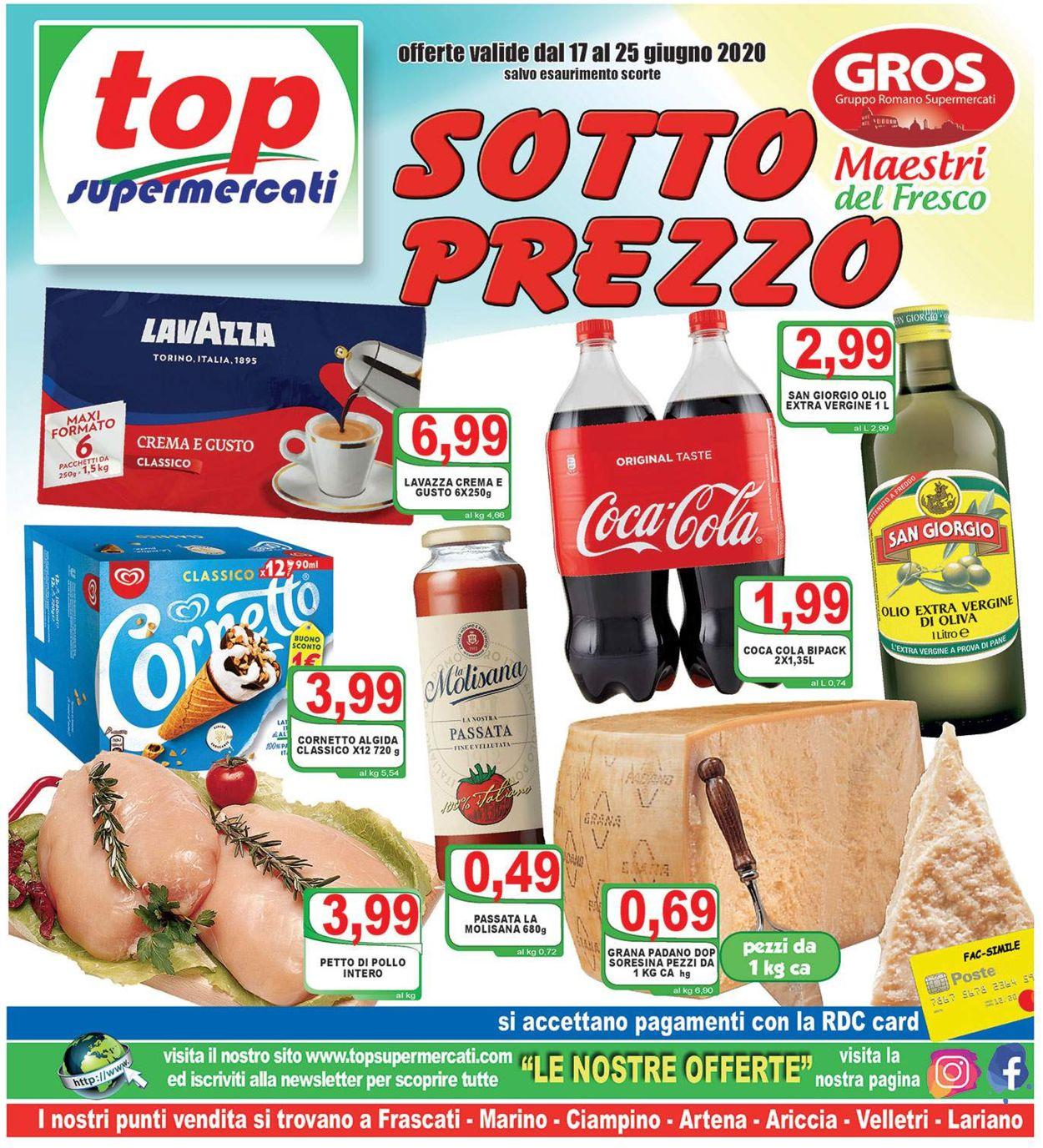 Volantino Top Supermercati - Offerte 17/06-25/06/2020