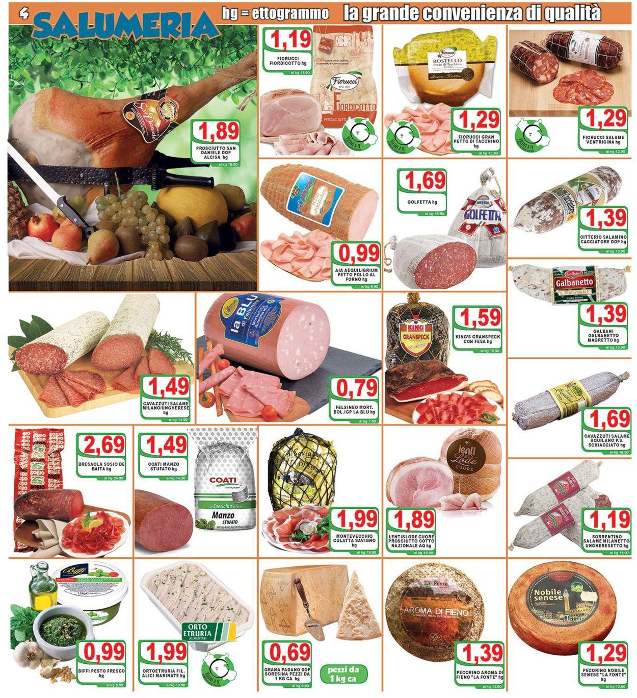 Volantino Top Supermercati - Offerte 17/06-25/06/2020 (Pagina 4)