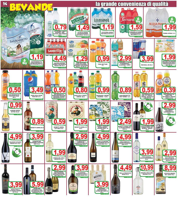 Volantino Top Supermercati - Offerte 17/06-25/06/2020 (Pagina 14)