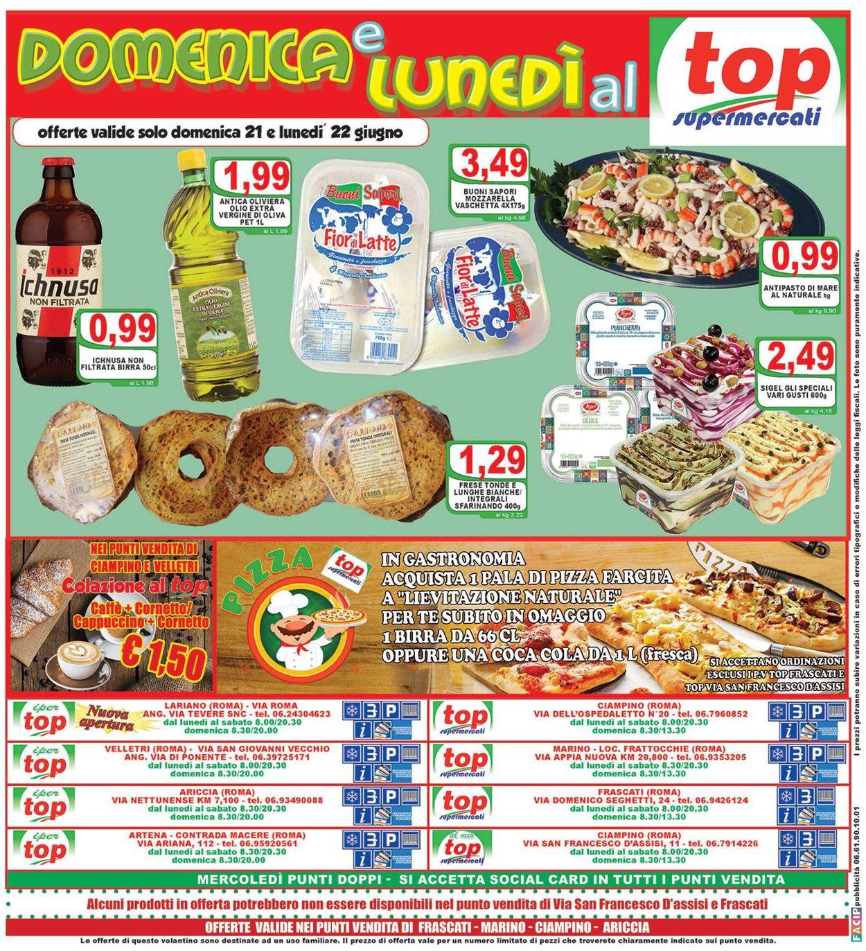 Volantino Top Supermercati - Offerte 17/06-25/06/2020 (Pagina 16)