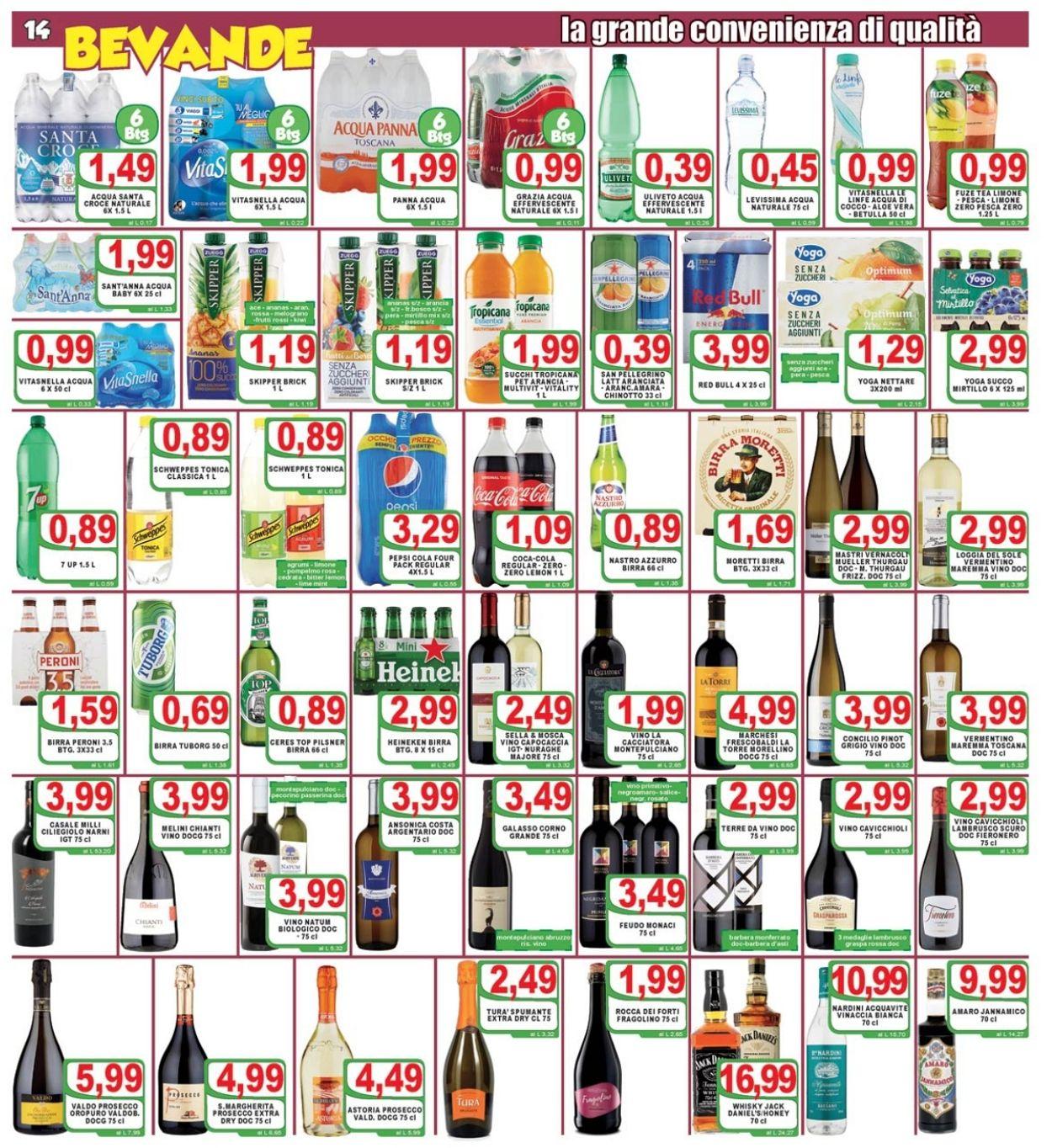 Volantino Top Supermercati - Offerte 10/10-20/10/2020 (Pagina 14)