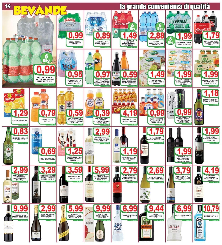 Volantino Top Supermercati - Offerte 29/10-05/11/2020 (Pagina 14)