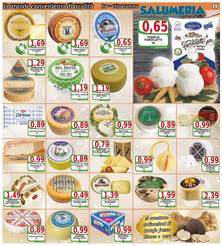 Volantino Top Supermercati - Natale 2020 - Offerte 03/12-12/12/2020 (Pagina 11)