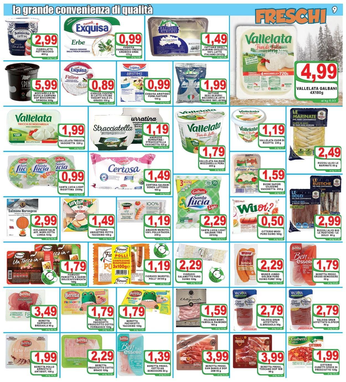 Volantino Top Supermercati - Offerte 07/01-19/01/2021 (Pagina 9)