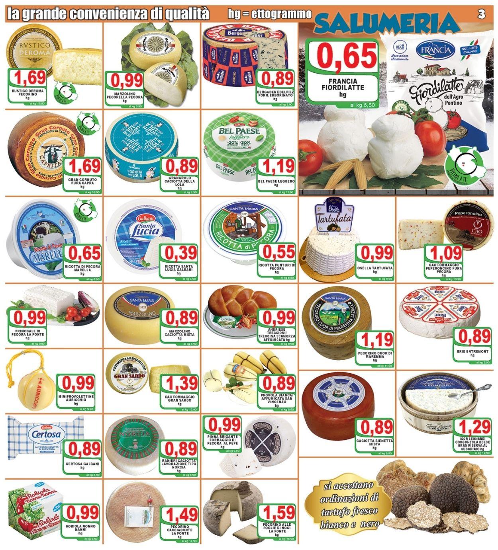 Volantino Top Supermercati - Offerte 29/01-09/02/2021 (Pagina 3)