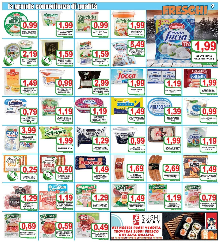 Volantino Top Supermercati - Offerte 29/01-09/02/2021 (Pagina 9)
